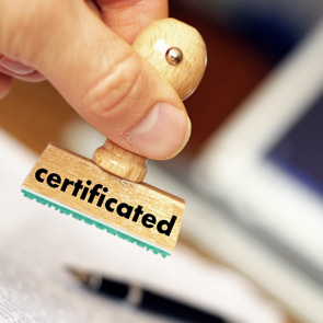 CERTIFICATIONS OF THE MANAGEMENT SYSTEM