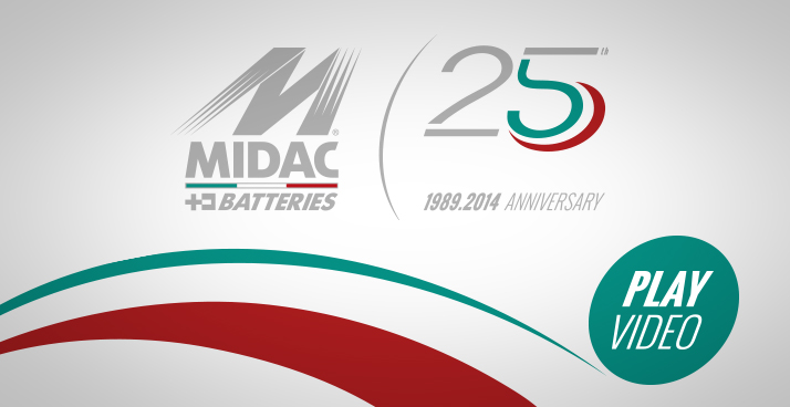 Midac 25th Anniversary