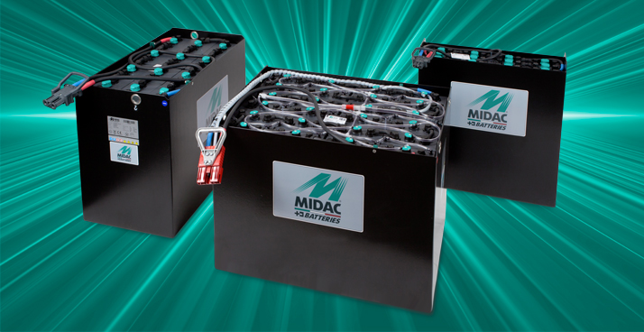 High-performance batteries for electrical forklifts and pallet trucks