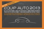 Equip Auto 2013 Paris October 16 to 20
