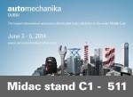 Automechanika 2014 June 3 to 5