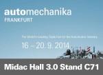 Midac a Frankfurt Automechanika 2014