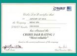 Cribis D&B conferma il Rating 1 a Midac Spa