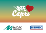 Midac e Bitimec together for: We Love Capri - The Heart of Change