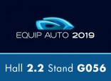 Equip Auto - Paris October 15-19, 2019