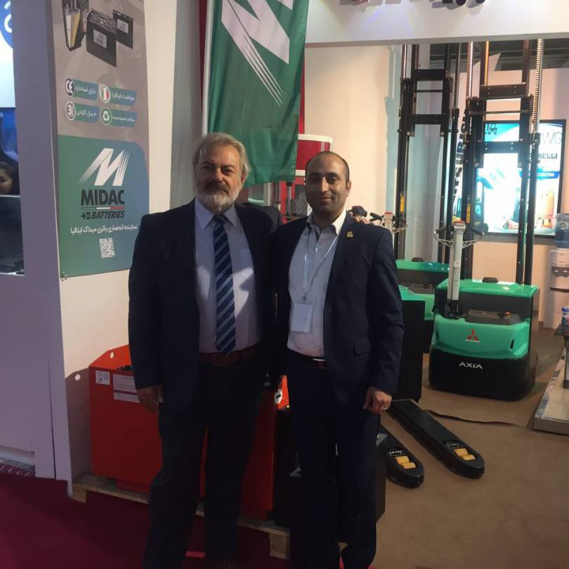 Part Machine Pouya Pishro Exclusive Supplier of MIDAC Company in Iranian Market for traction batteries (Motive Power Batteries)